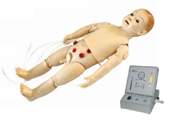 Mô hình hồi sức cấp cứu trẻ em 1 tuổi.có model hiển thị.